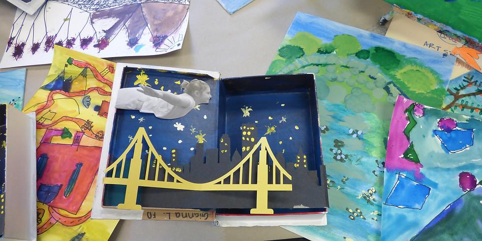 The Crazy Mixed Up Doodler: Mixed Media Art Camp (Ages 5-9)