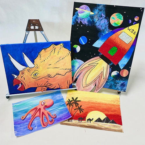 doodle to infinity and beyond: art exploration doodle box