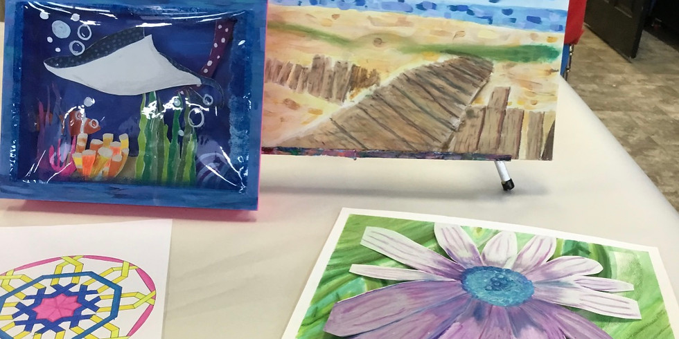 Mixed Media Camp (Ages 10-14)