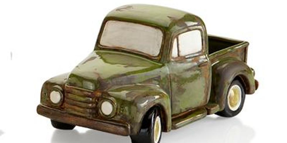 Adult BYOB Workshop: Antique Ceramic Pick-Up Truck