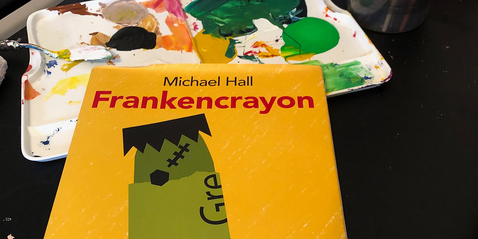 Dots and Tots: Frankencrayon Drawing Project