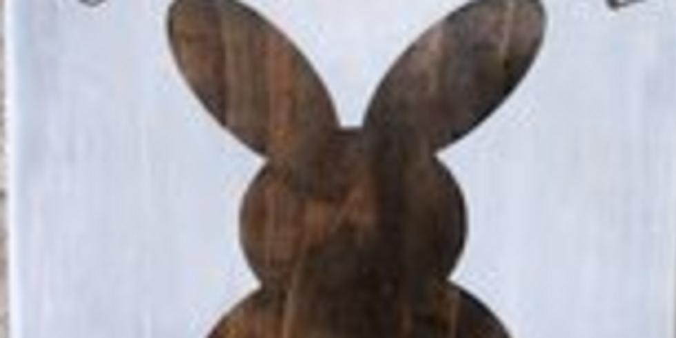 Youth Workshop: Hoppy Easter Wooden Sign