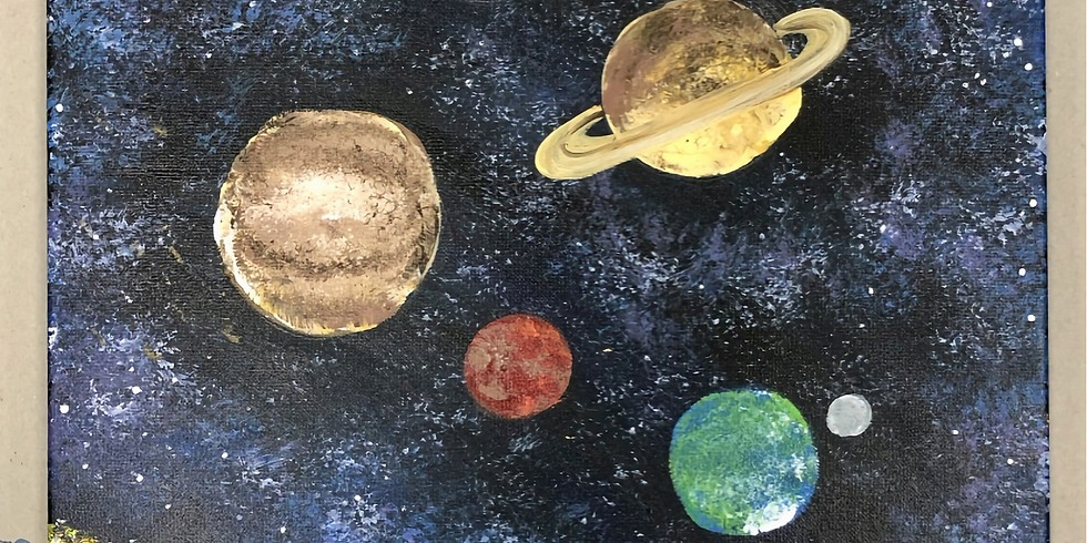 Youth Space Canvas Painting Workshop (Ages 5-12)