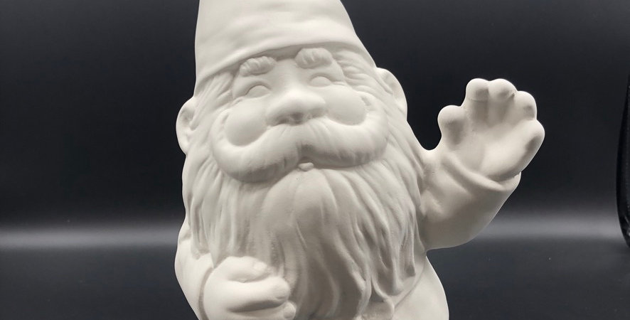 Large Gnome Figurine