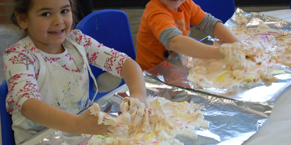 Messy Doodlers: 3D Art and Sculpture Camp (Ages 5-9)