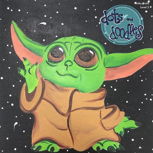 Baby Yoda Canvas