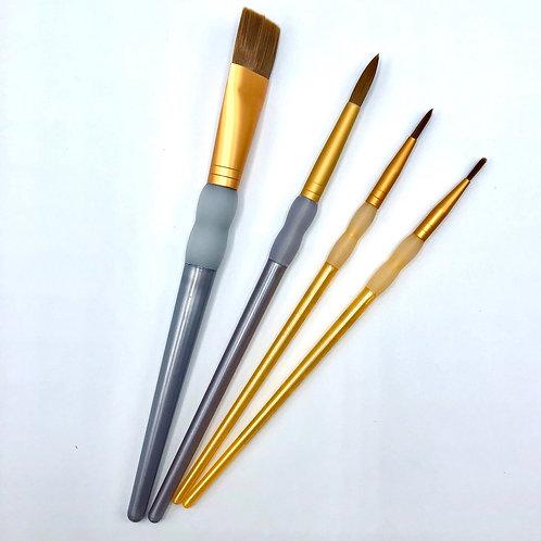 Pottery Paint Brush Set (Curbside Art)