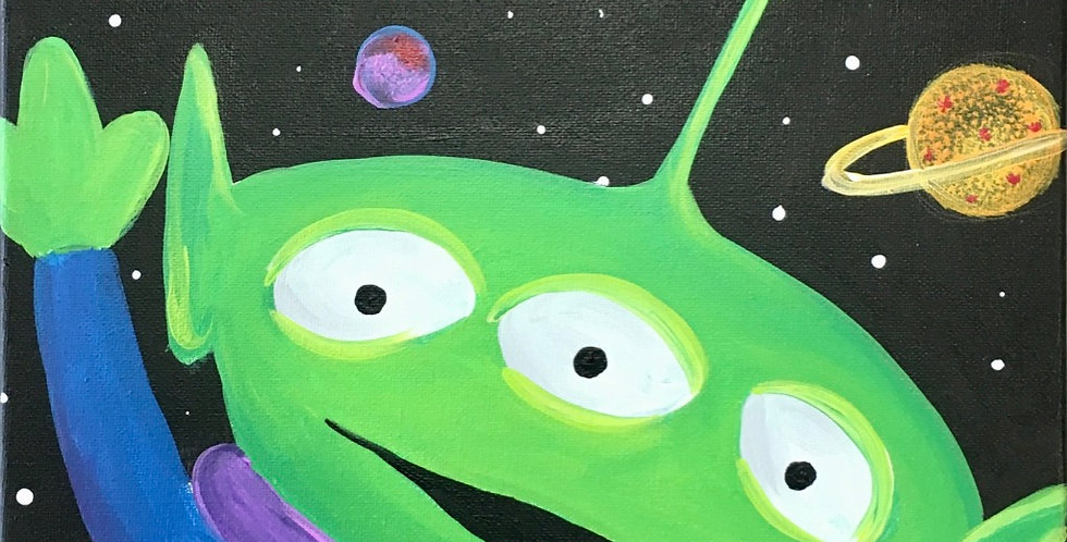 Toy Story Alien Canvas