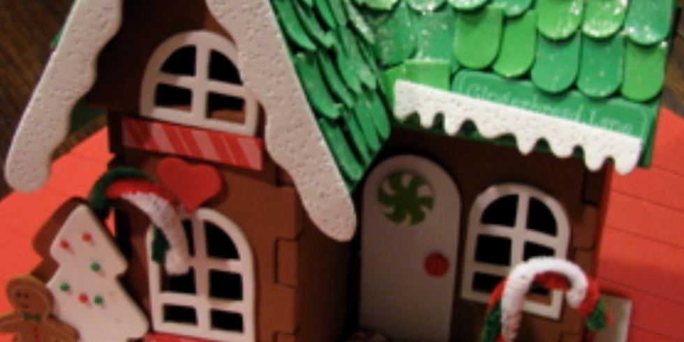 Youth Gingerbread House Workshop