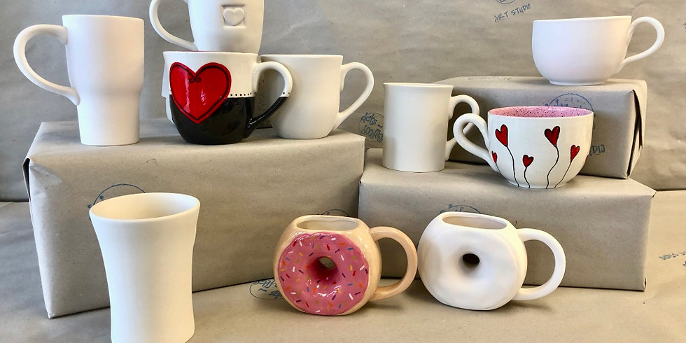 Youth Mother's or Father's Day Mug Making (Ages 5-12)