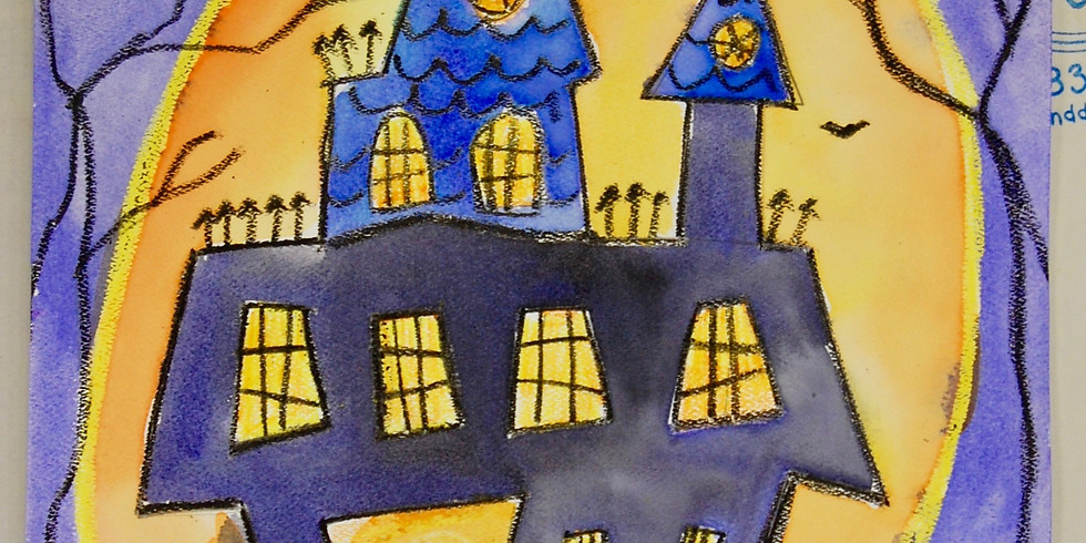Dots and Tots: Haunted House Project