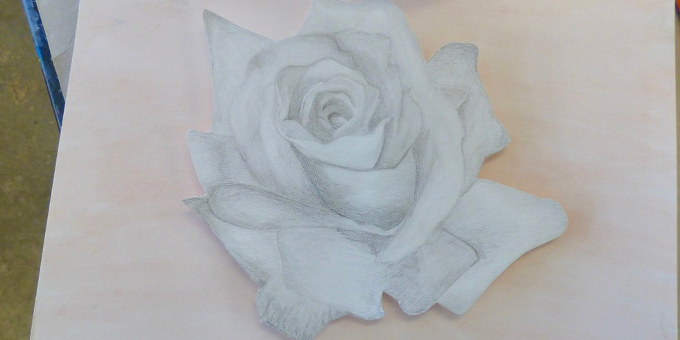 Adult Flower Drawing Technique Workshop