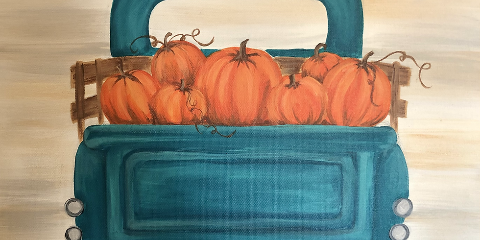 Family Fall Canvas Painting pARTy