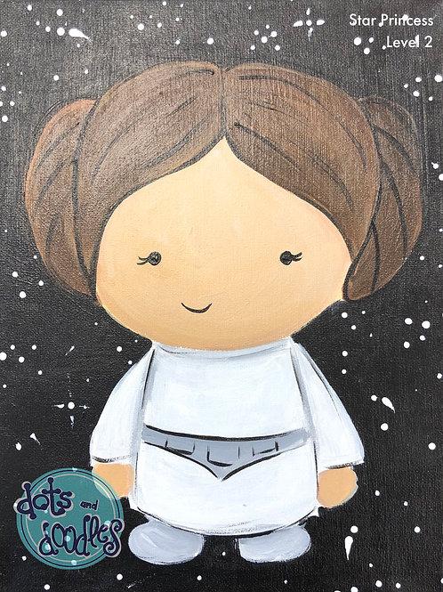 Star Princess Canvas