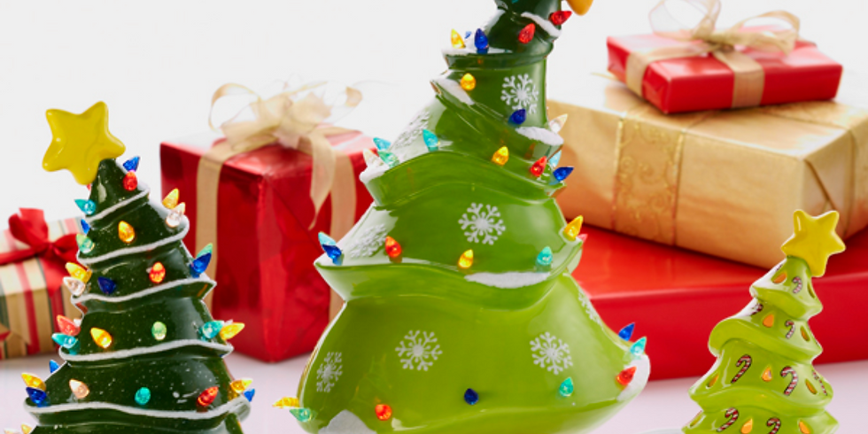 Youth Christmas in July Pottery Tree Workshop