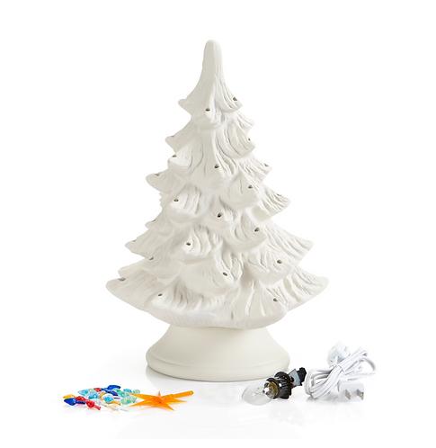 """Classic Light Up Christmas Tree - Medium (14"""")"""