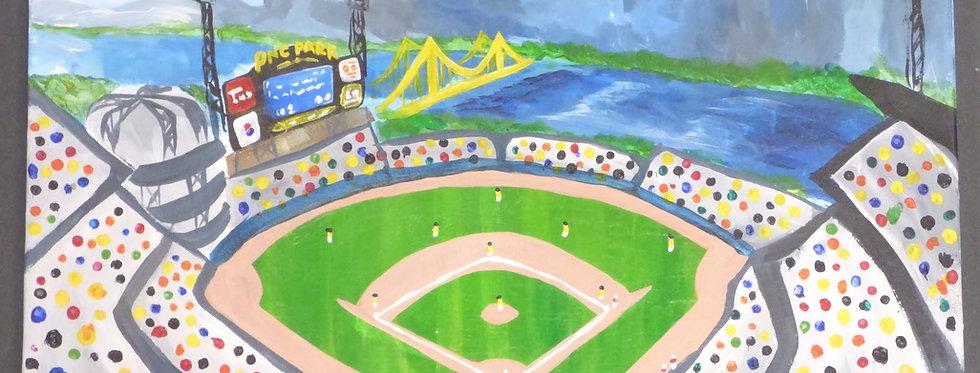 PNC Park Canvas