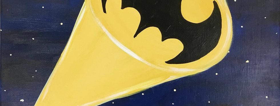 Batman Skyline Canvas
