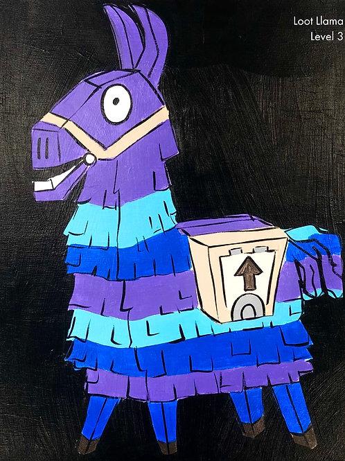 Loot Llama Canvas