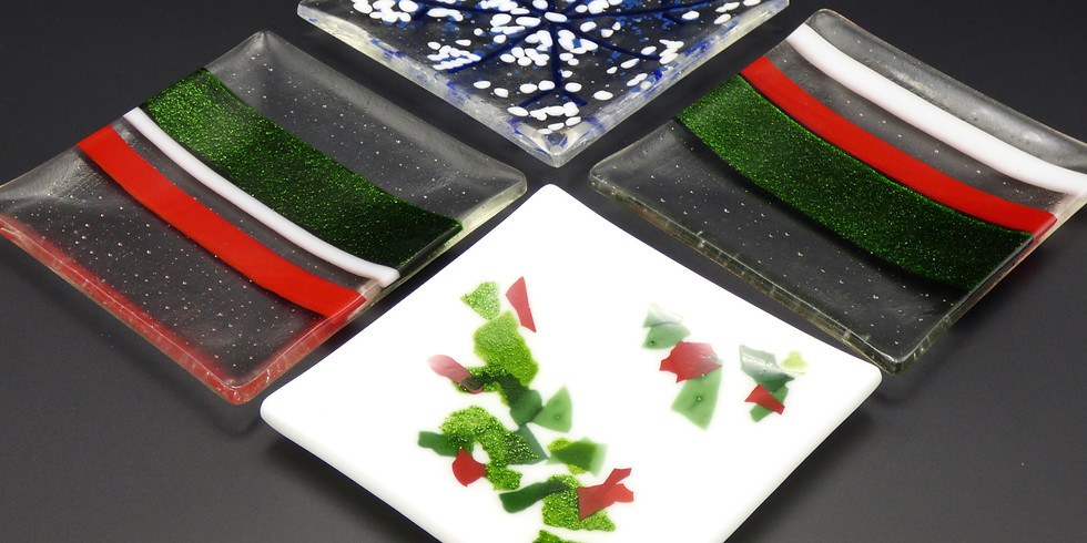 Adult Holiday Glass Plate Creation Night
