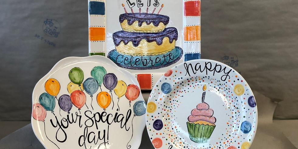 Adult PYOP Celebrate Plate Workshop