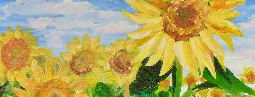 Field of Sunflowers Canvas