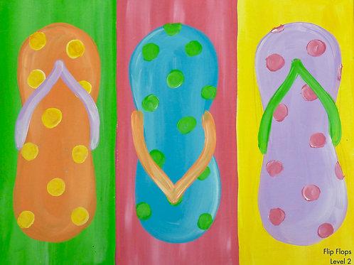 Flip Flop Canvas