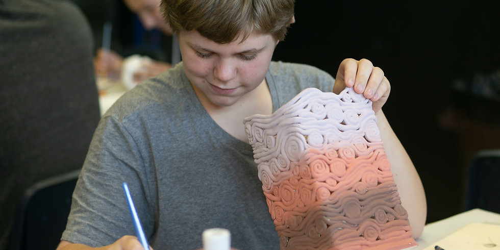 Clay Camp (Ages 10-16)