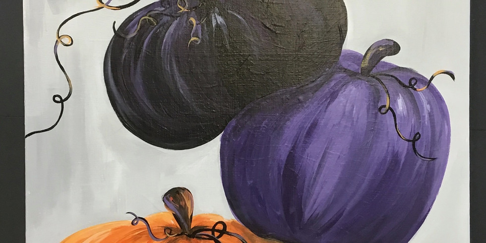 Family Workshop: Halloween Canvas Painting