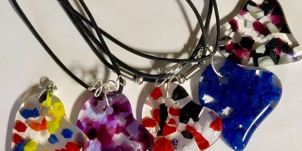 Parent/Child Glass Fused Jewelry