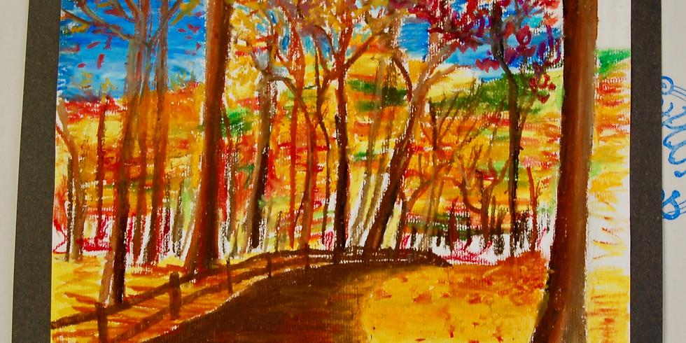 Dots and Tots: Fall Landscape
