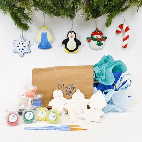 Deck the Halls Ceramic Ornament Pack