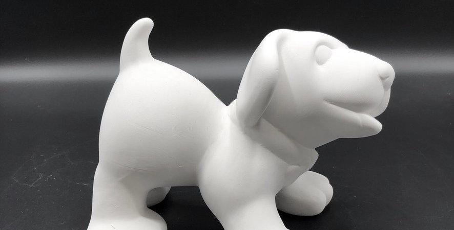 Standing Dog Figurine