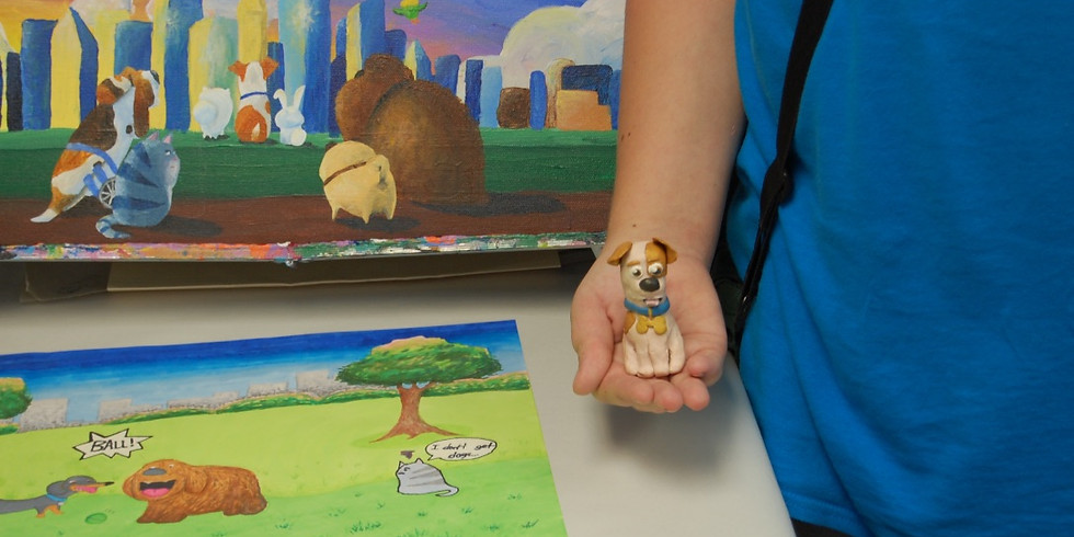 Doodling with Disney: Animation Camp (Ages 10-14)