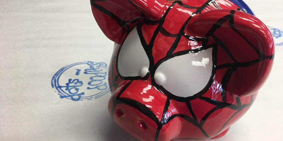 Youth Workshop: Pajamas, Pizza, and Superhero Piggy Banks