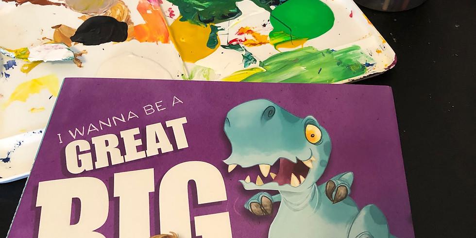 "Dots and Tots: ""I Wanna be a Great Big Dinosaur"" Transformation Project"