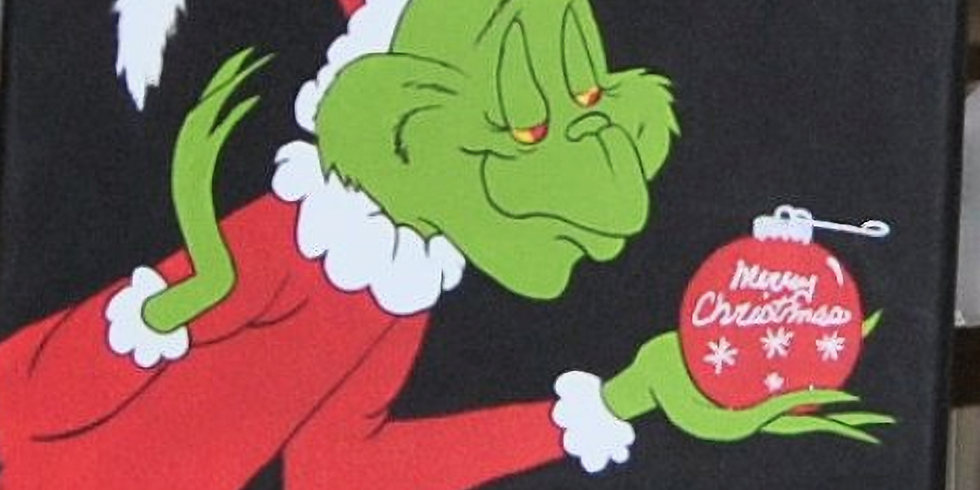 Youth Grinch Movie and Canvas Workshop
