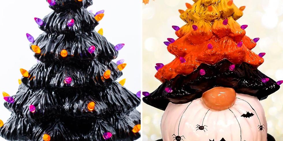 Adult Ceramic Halloween Tree Workshop