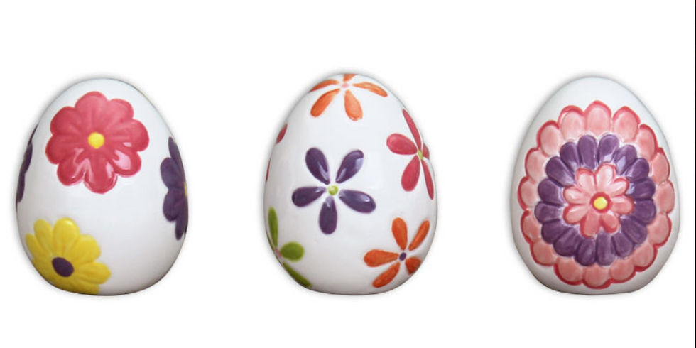 Youth Ceramic Egg Painting Workshop (Ages 5-12)
