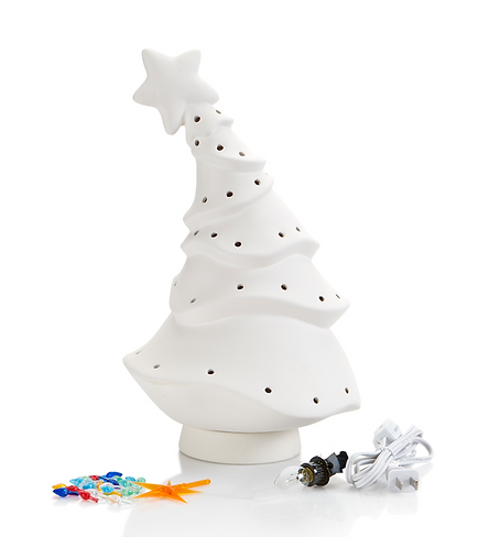 "Animated Light Up Christmas Tree - Medium (14"")"