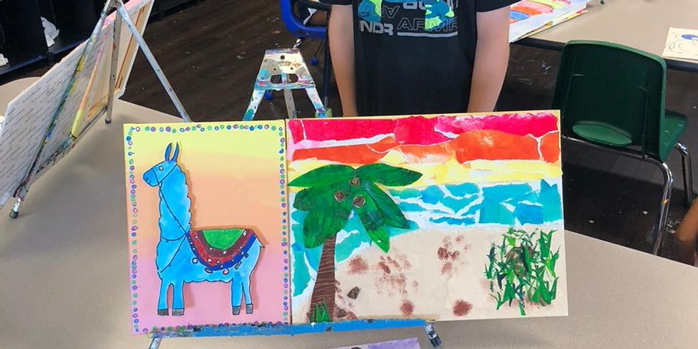 Destination Doodle: Art Exploration Camp