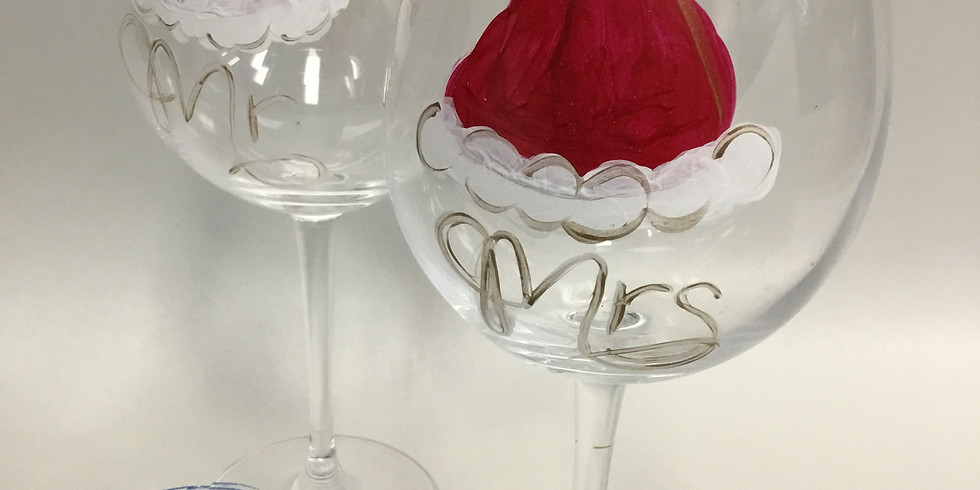 Adult Holiday Glass Painting Night