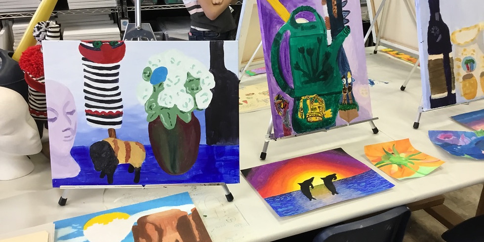 Painting and Drawing Camp (Ages 10-14)