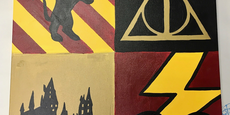Teen Harry Potter Canvas Workshop