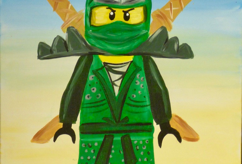 Lego Ninjago Canvas