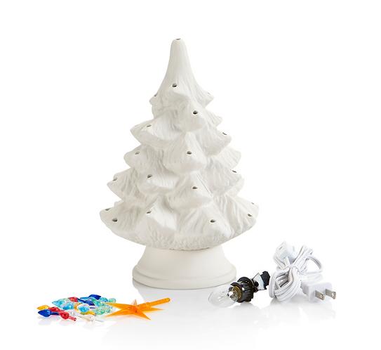 "Classic Light Up Christmas Tree - Small (9"")"
