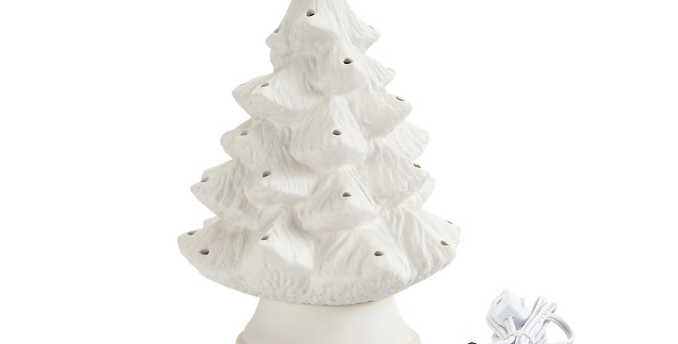Small Classic Light Up Ceramic Tree