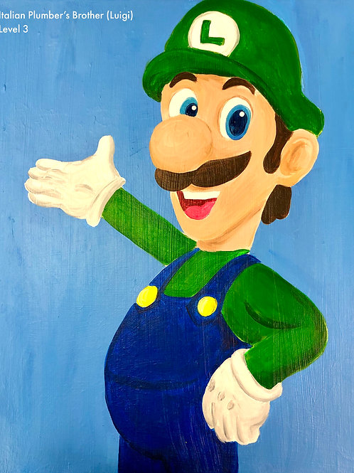 Italian Plumber's Brother Canvas