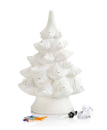 "Classic Light Up Christmas Tree - Large (17"")"