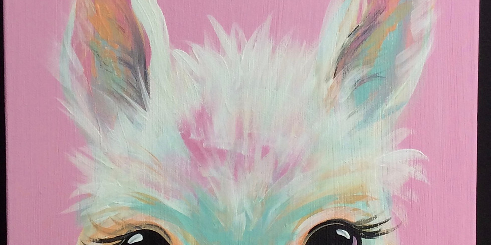 Teen Workshop: Llama Canvas Painting